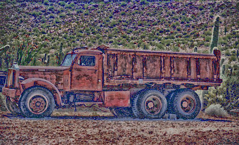 Mining truck-120070318